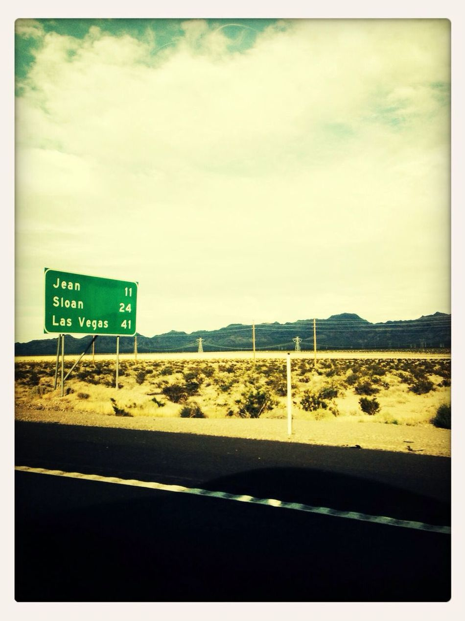 Morgens San Diego, abends Vegas!
