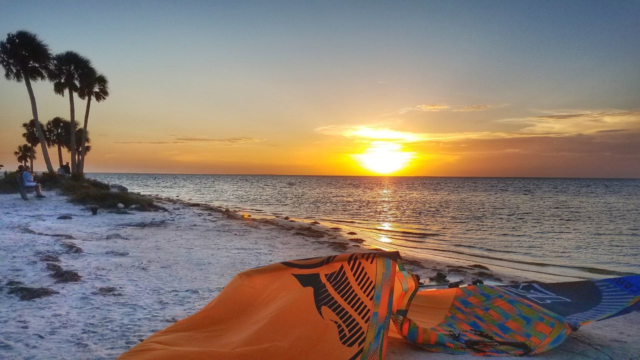 Relax, Sports, on Paradise Sea Beach Sunset Sand Sky Outdoors Water Tranquility Horizon Over Water Beauty In Nature Kitesurfing Kiteboarding