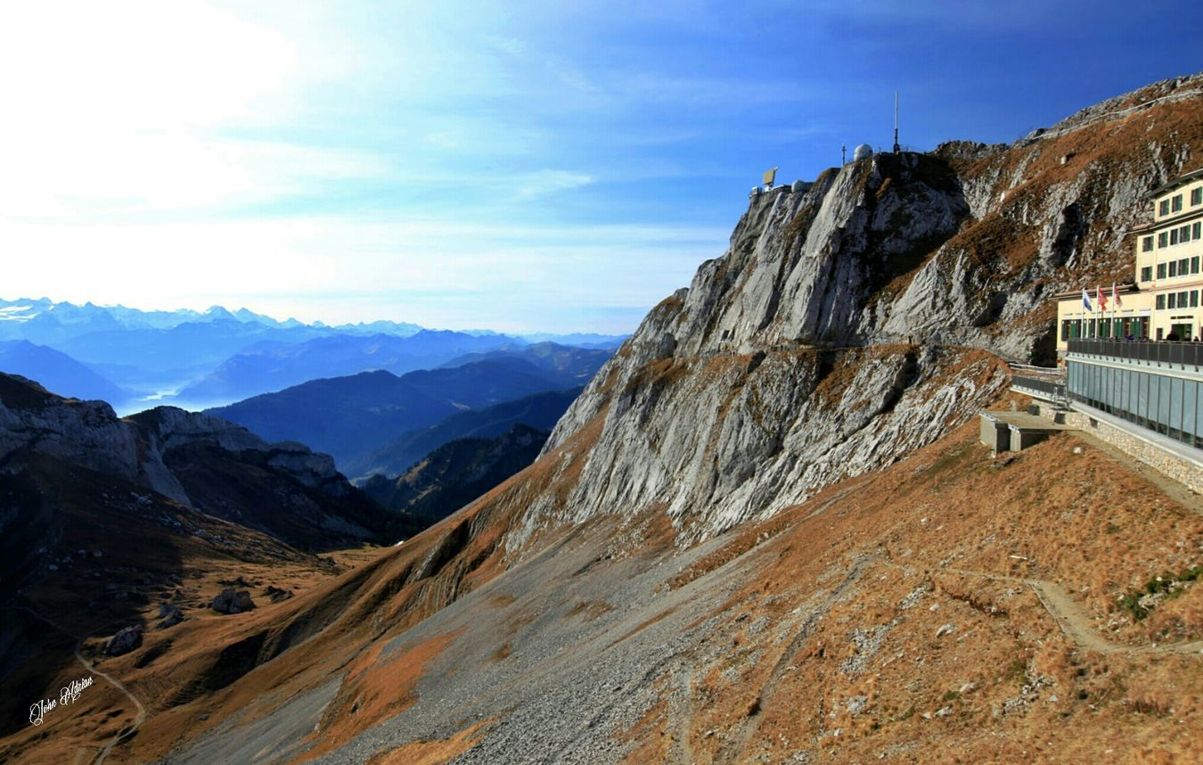 Mt.pilatus Switzerland Travelling Streetphotography Landscape_photography Clouds And Sky Nature