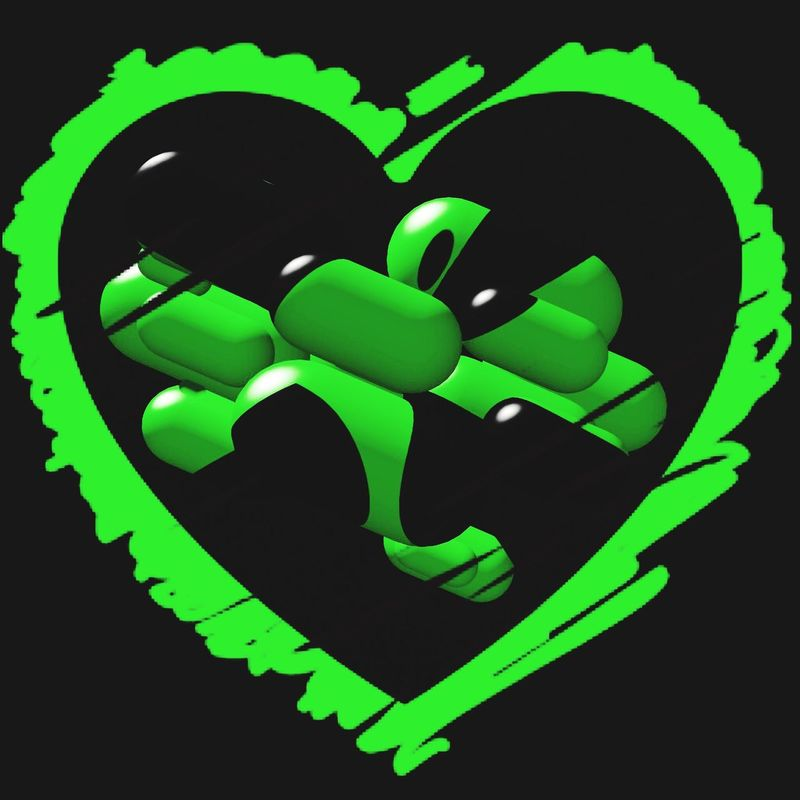 Looks good on t-shirts, longsleeves and bags 😄 Black Neongreen Neon Shirt Frame Strange Objects Edit Fun With Editing :) Printdesign Longsleeve Bag Fun Abstract Abstractart Heart Textile Creative Postcard