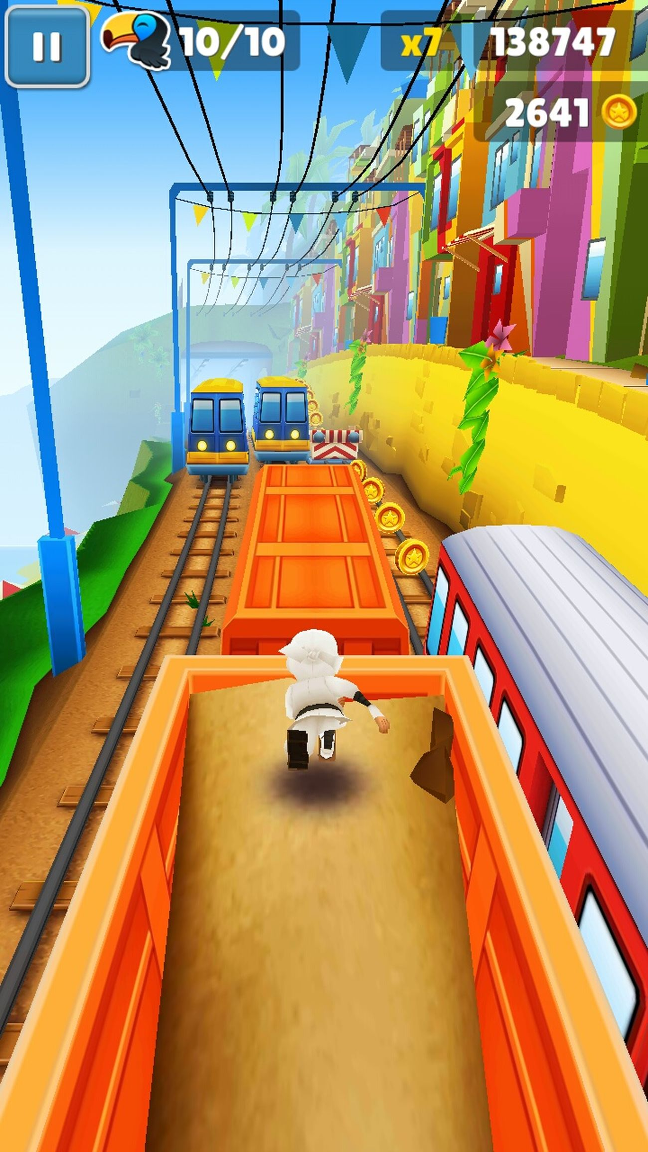 Subway surf! 2641 Golds and 138747 score))) Taking Photos Hi! That's Me Check This Out Hello World WOW Record Score Subway Subway Surf