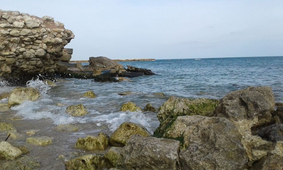 Sea Rocks In River Rocks And Sand Rocks On The Beach Salentolife Salento Relax Love For The Sea