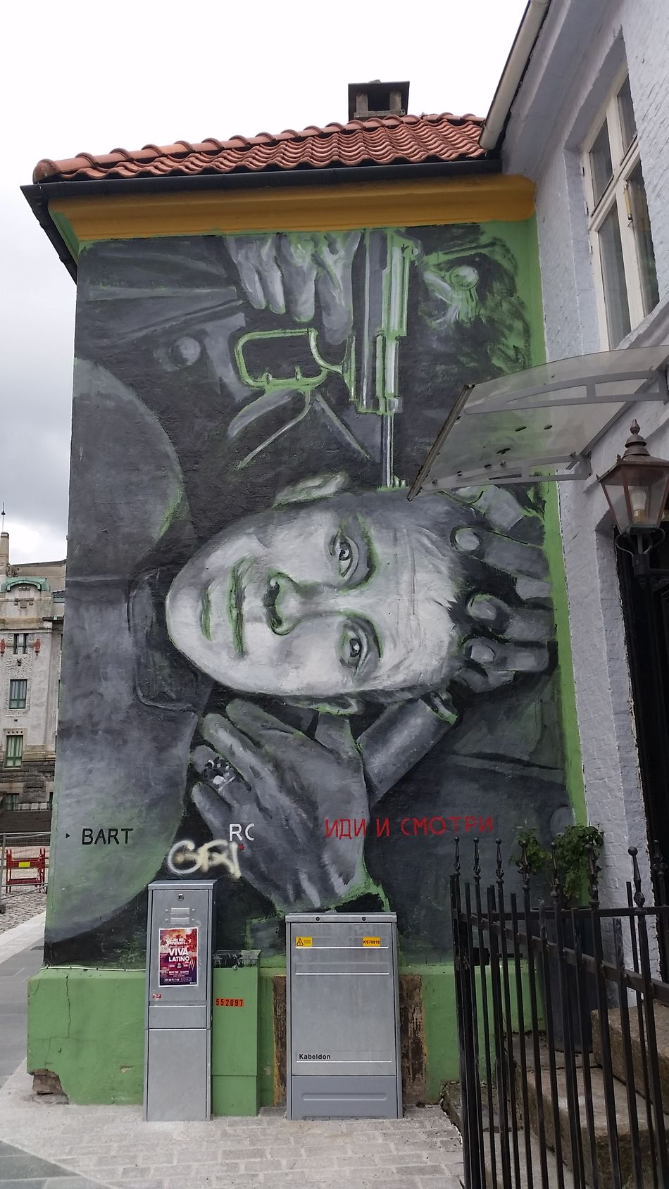 Art Bergen,Norway Building Exterior Built Structure Idiismotri No People Outdoors Streetart/graffiti Comeandsee