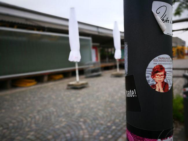 Laterne Halle02 Heidelberg Germany Hamburger Küchensession Flyer Aufkleber Werbung GUERILLAMARKETING