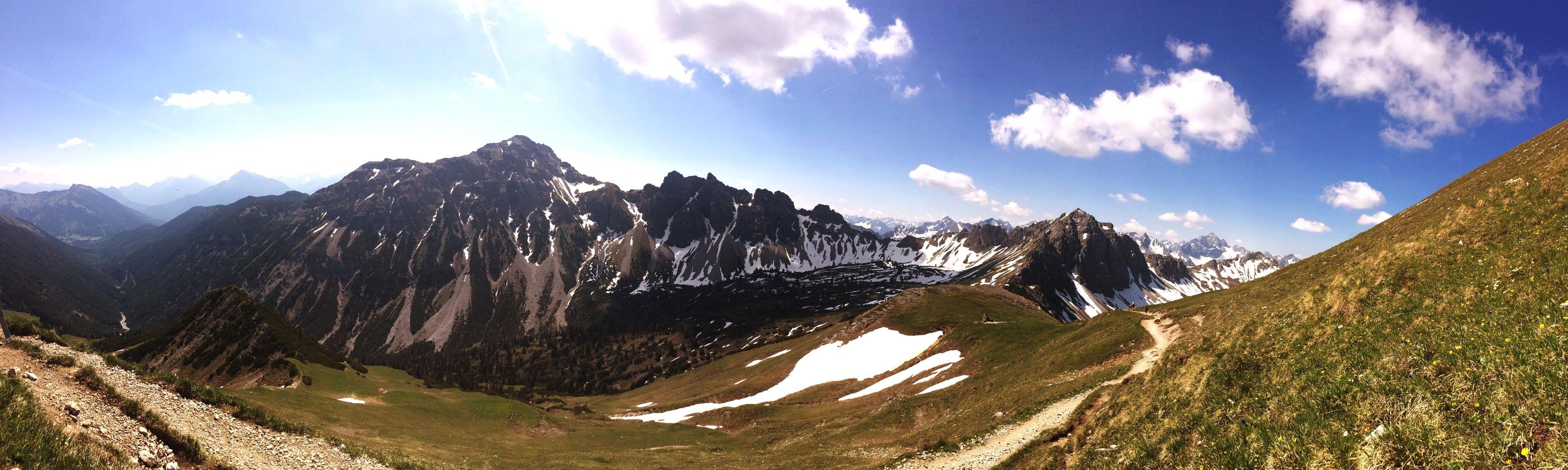 Wandern Mountain View Hiking Landscape Wanderlust