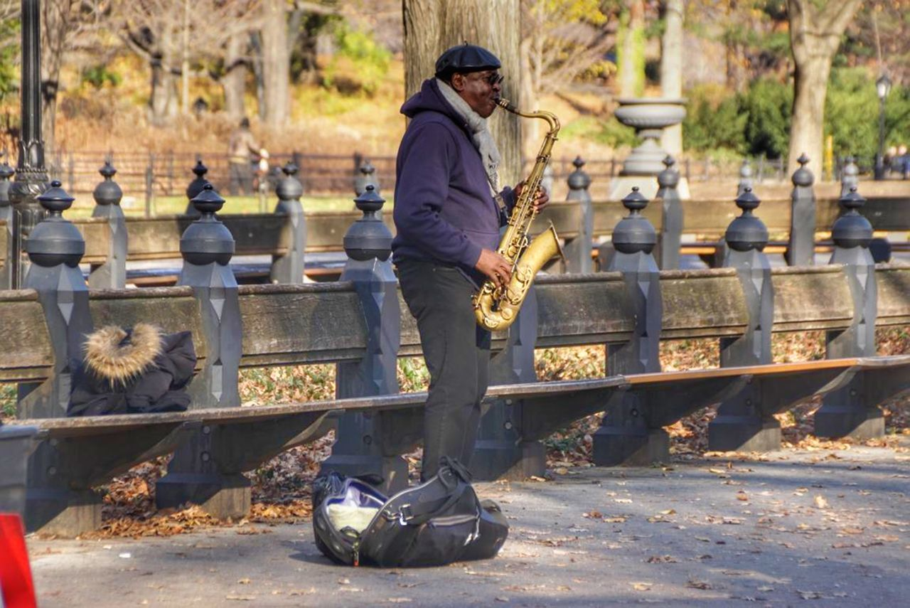 TakeoverMusic ☺🎷😘 NYC LIFE ♥ Nycstreetphotography Men People One Person Real People Outdoors First Eyeem Photo Market Eyeemphoto My Favorite Photo My Commute-2016 EyeEm Photography Awards Enjoying Life Travel Photography Musician My Commute Only Men The Photojournalist - 2016 EyeEm Awards Performing Arts Event My Year My View Peoplephotography Hello World ✌ Close-up Happiness ♡