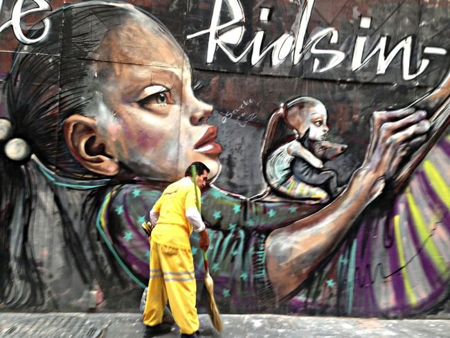 Yellow Urban Art Urban Landscape #colors #color #colorful #TagsForLikes #red #orange #yellow #green #blue #indigo #violet #beautiful #rainbow #rainbowcolors #col