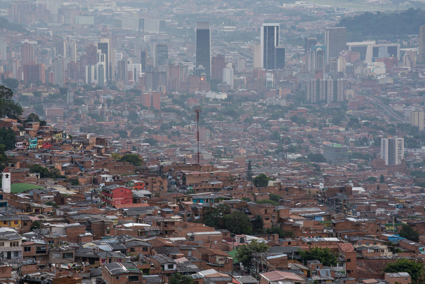 The breathtaking city of Medellin, in the front Favelas in the back downtown with its upcoming economical pride. This city has a unique spirit and many of the Paisas, the people of Medellin and Antioquia, are proud the time of cruelty and violence came to and end - it is a spirit of departure for the better Aerial View Architecture City Cityscape Colombia Embrace Urban Life Favelas Medellín Panorama Skyscraper Skyscrapers Travel Travel Destinations Travel Photography Urban Urban Landscape Urban Skyline Urbanphotography Flying High An Eye For Travel Mobility In Mega Cities