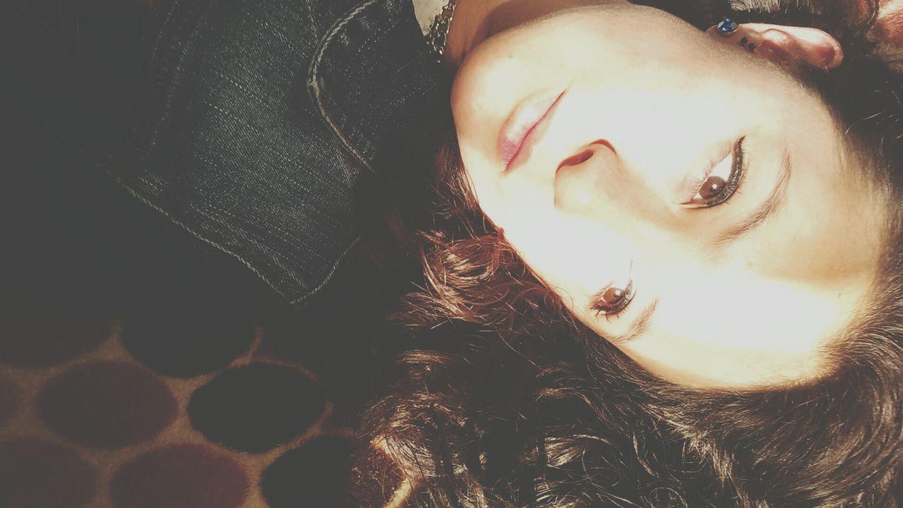 Sunshine Selfie Whereismymind Brown Eyes Beauty Nice!