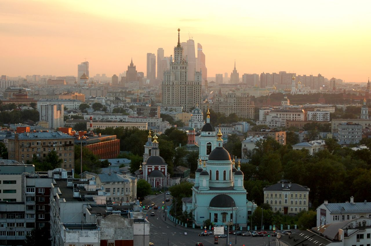Beautiful stock photos of moscow, Architecture, Building Exterior, Built Structure, City