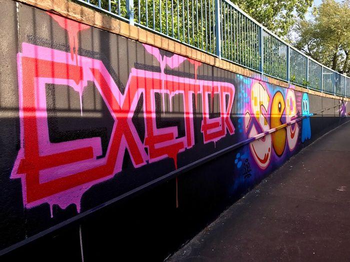 No People Graffiti Graffiti Art Exeter Uk