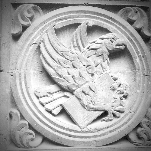 Evangelist Eagle Symbol Saint John Relief Stone Religious Art Church Brunswick Braunschweig