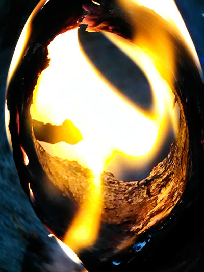 Ring if Fire Fire Ringoffire Flame Mountain Lava Nature Outdoors Molten