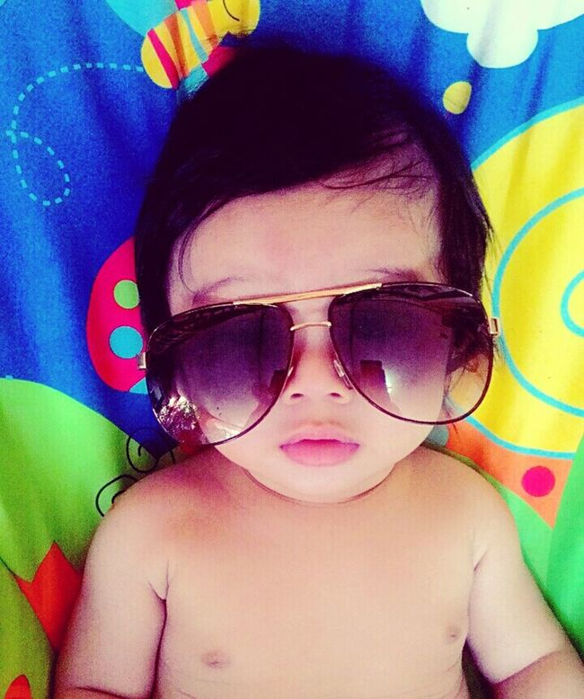 Baby In Sunnies Summer In The Phil Eyeem Philippines EyeEm Baby