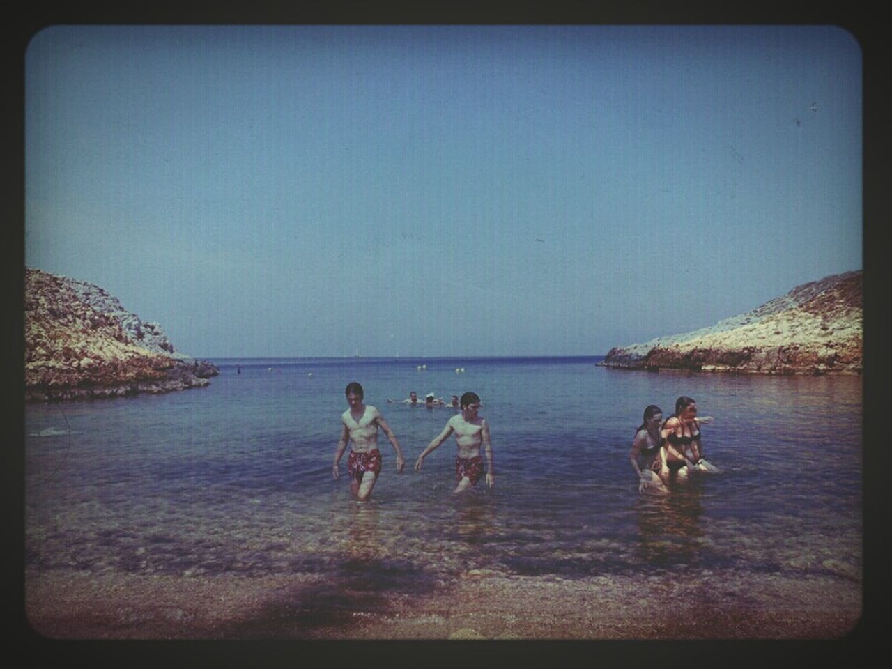 Nothing Lasts But Nothing Is Lost Summer Beach Blue Sky Nostalgy Authentic Moments Lomography Seaside Summertime Multiple Exposures Marseille
