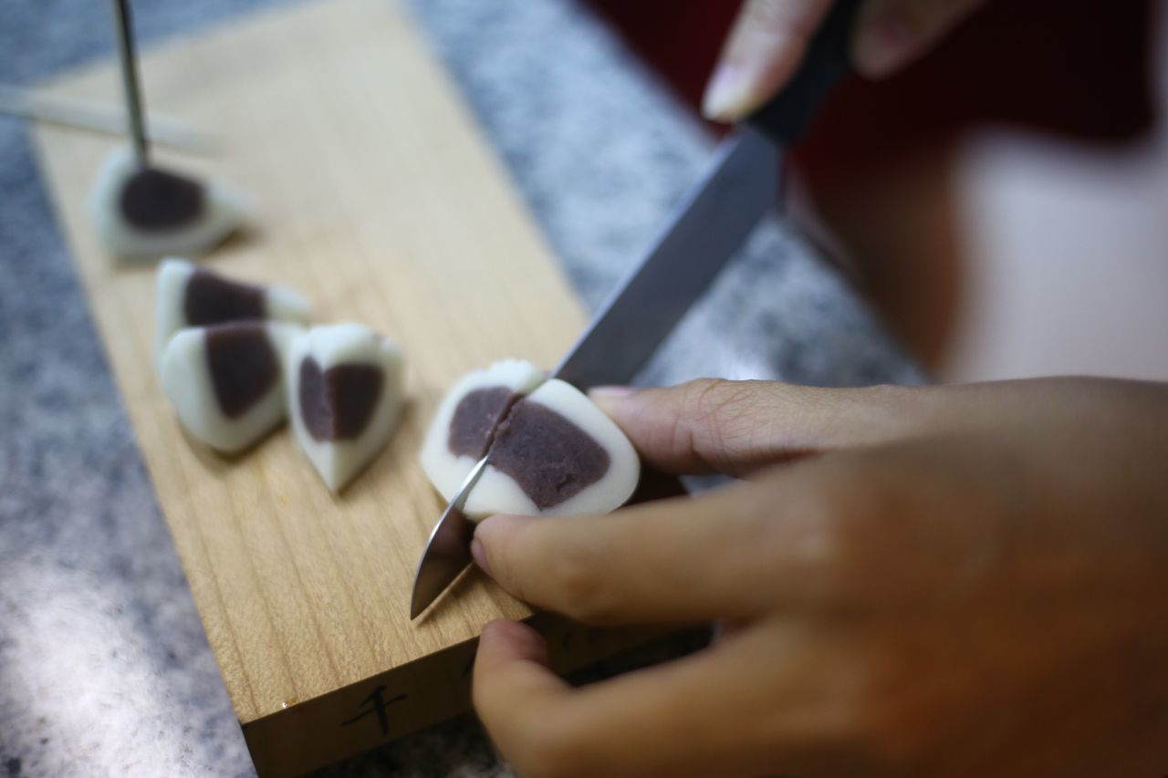 Artist I Like Cropped Cut Focus On Foreground Handmade Holding Japan Japanese Food Japanese Style Person Wagashi