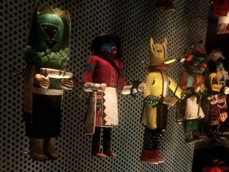 Katsina Dolls Dolls Hornimanmuseum London Folklore Hopi Culture Rain Fertility Happiness Health
