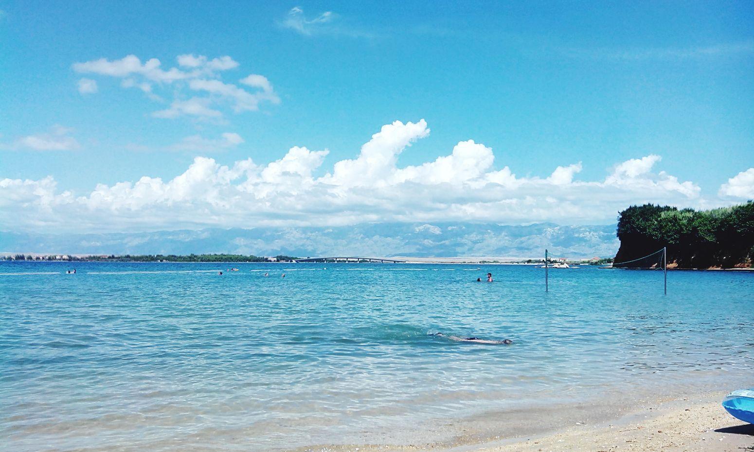 Enjoying The Sun Relaxing Beach Croatia ♡ Sea Swimming Getting A Tan Sea And Sky Sunlight Cristal Clear