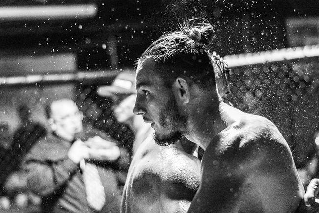 William Sizemore post fight at MFC 2 Blackandwhite MMA Fighting JiuJitsu