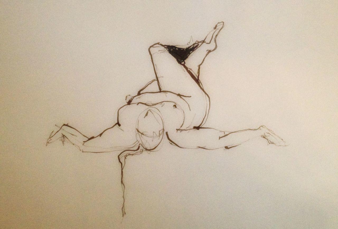 #art #artwork #illustration #sketch #pencil #pen #blackandwhite #gesturedrawing #nude-art Nature