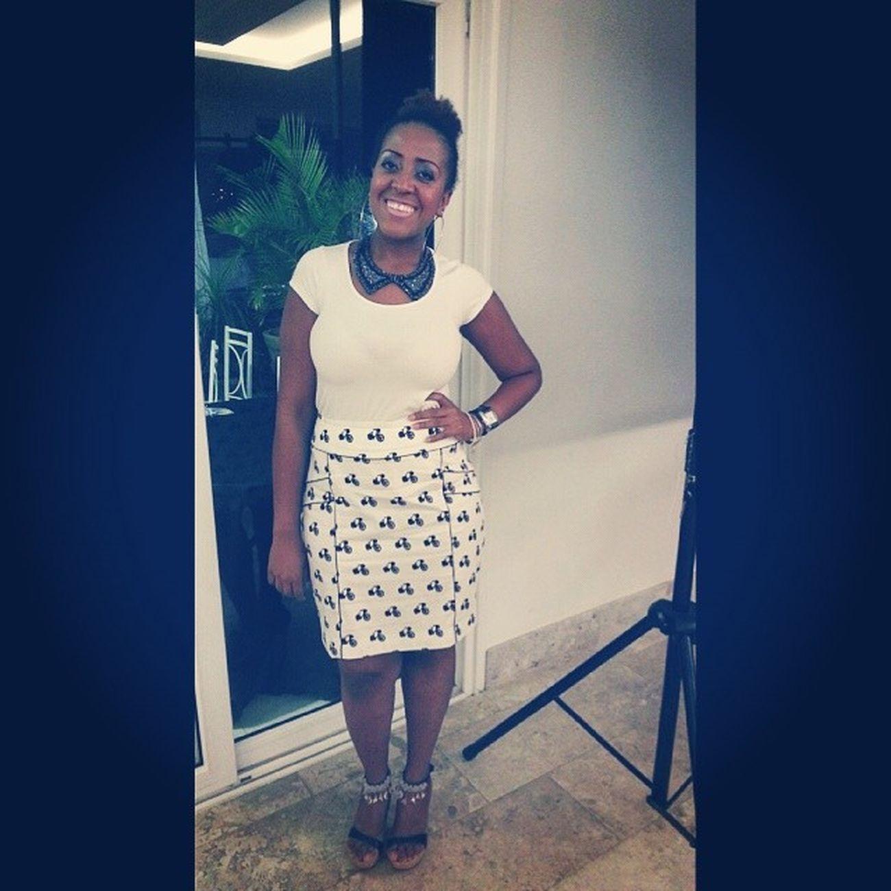 Look de ontem em Sta Bárbara no Congresso de Jovens Redenção Girl Stylegirl BlackWoman ;)