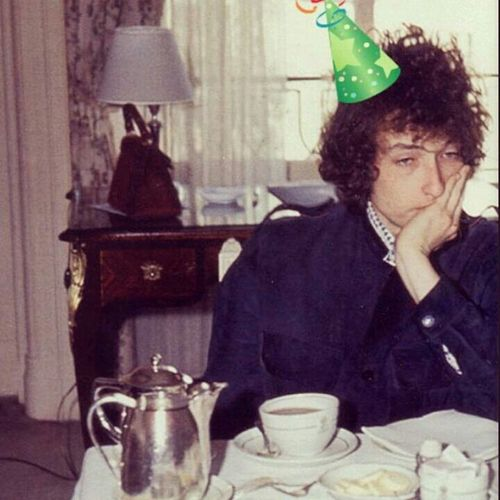Crack a smile, Bob! Bob Dylan Dylan One More Cup Of Coffee
