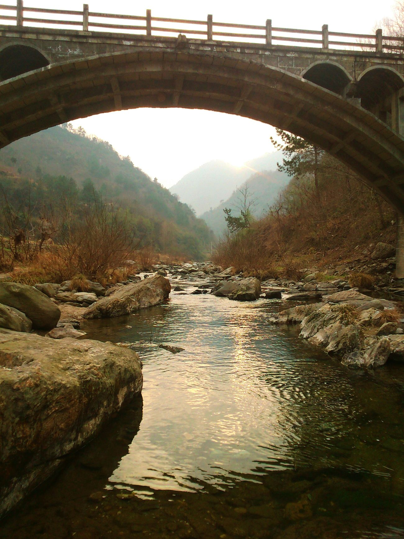 First Eyeem Photo 秦岭 Rive Shanxi Province China Landscape Relaxing Enjoying Life Nature_collection