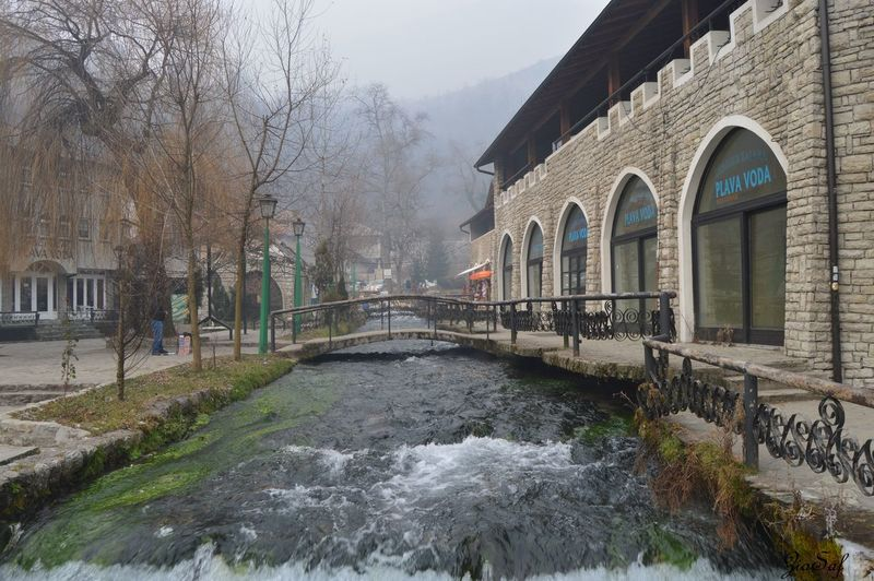 Travnik, Bosnia and Herzegovina Cloudy Connected By Travel Freezing Cold Green Heaven Nature Rain Restraunt View Amazing Autumn Mix Winter Bridge Building Exterior Cold Evening Magnificient Mountain Nature_collection Nice Original Peaceful Photography Turqoise Water Vocation Waterfall
