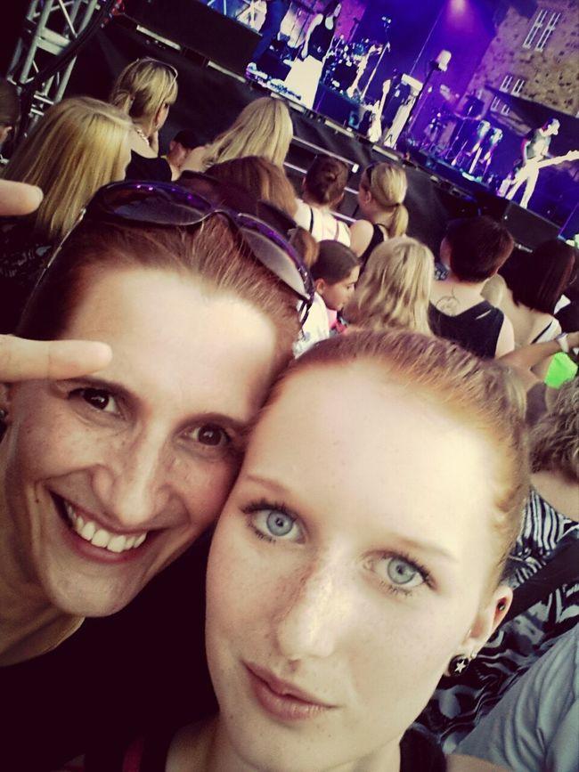 Mit meiner Mutter auf einem Konzert ♡♥ Adeltawil Wundervoller Guter Abend :)