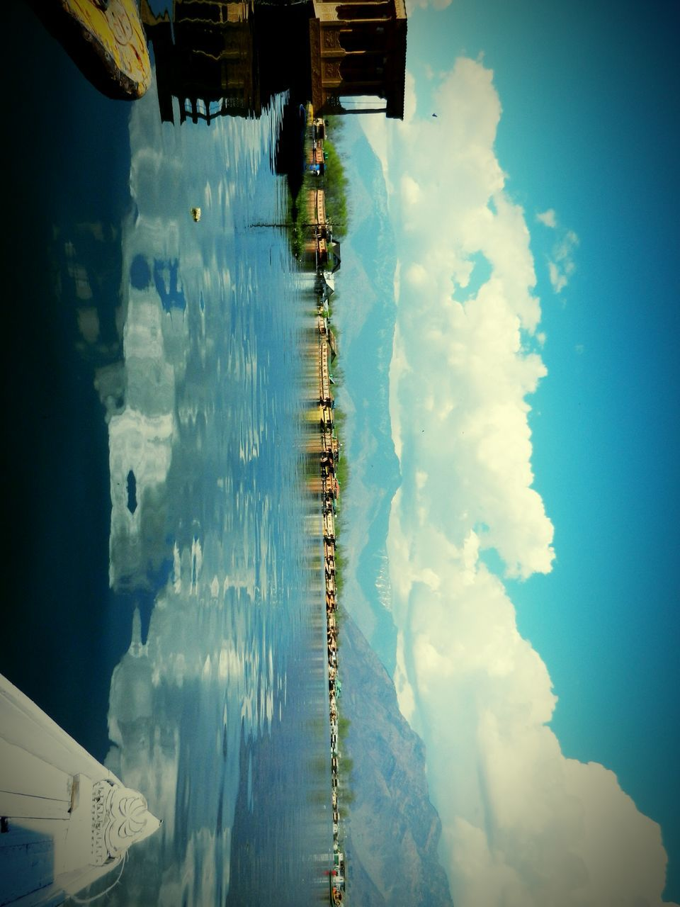 sky, cloud - sky, water, outdoors, building exterior, architecture, built structure, day, no people, nature, beauty in nature