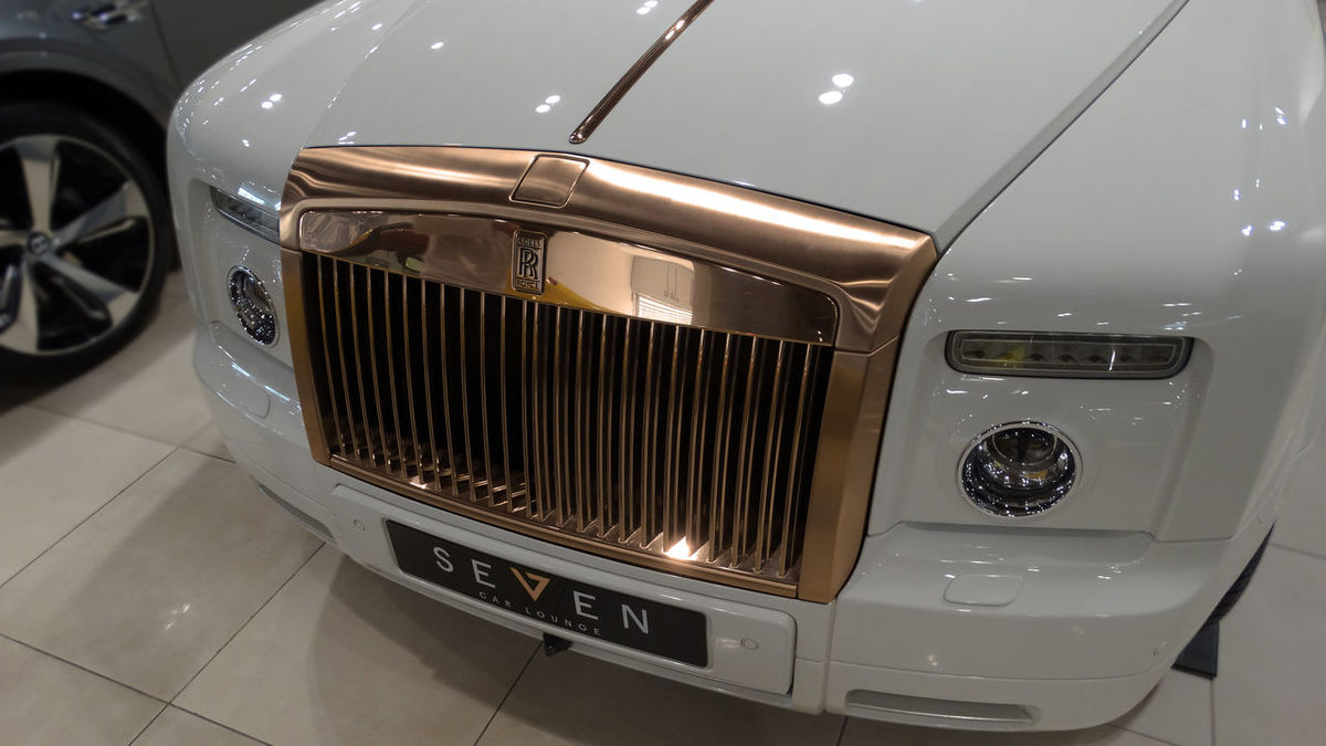 Rolls-Royce Rosé Gold Rosegold No People
