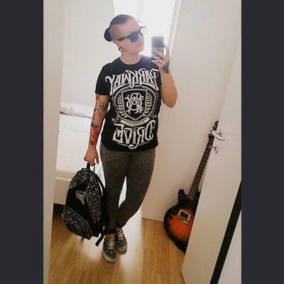 Parkwaydrive Starwars Vans Vanswars stormtrooper starwarscollection blackwhite guitar selfieshit vansglasses vansgirls sunglasses