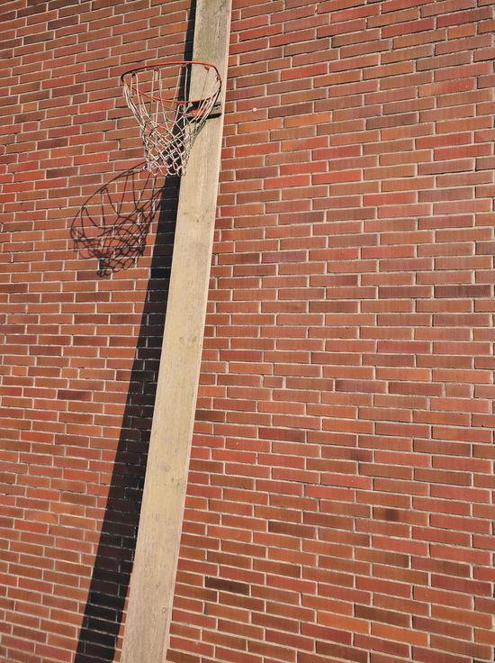 Basketball Brick Wall Minimal Minimalism Nexus6P Shadow Simplicity Simplicity Is Beauty. VSCO EyeEmNewHere