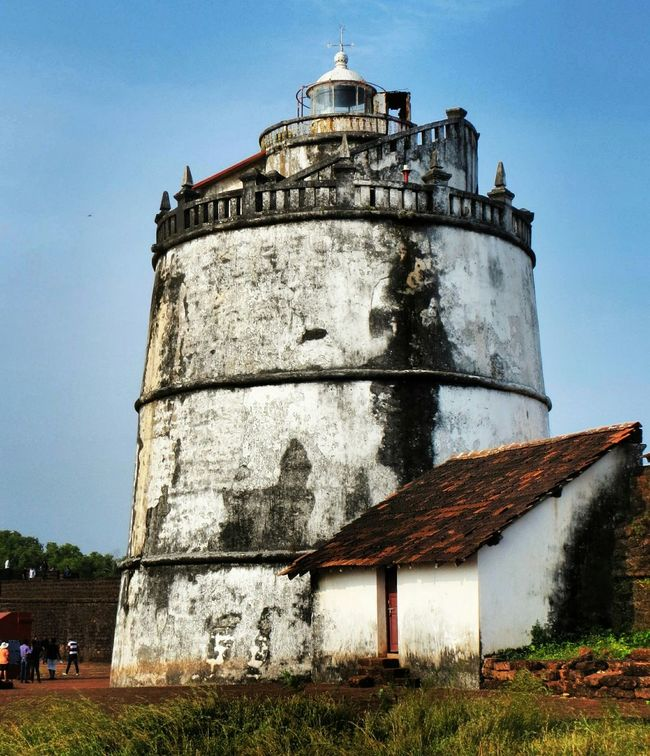 Fort Aguada Aguadafort Goa Taking Photos Photography Beautiful Nature EyeEm Gallery Canonphotography Trip Evening History Historical Building