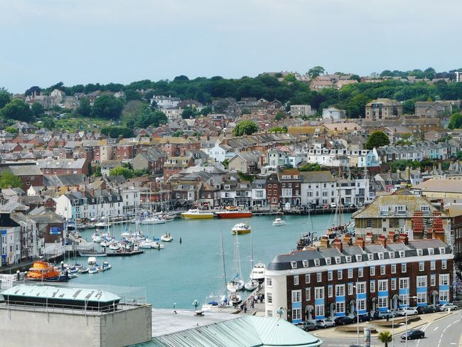Summer Memories 🌄 Landscapes Relaxing Taking Photos Weymouth Harbour Buildings And Trees Boats And Moorings Boats And Yachts