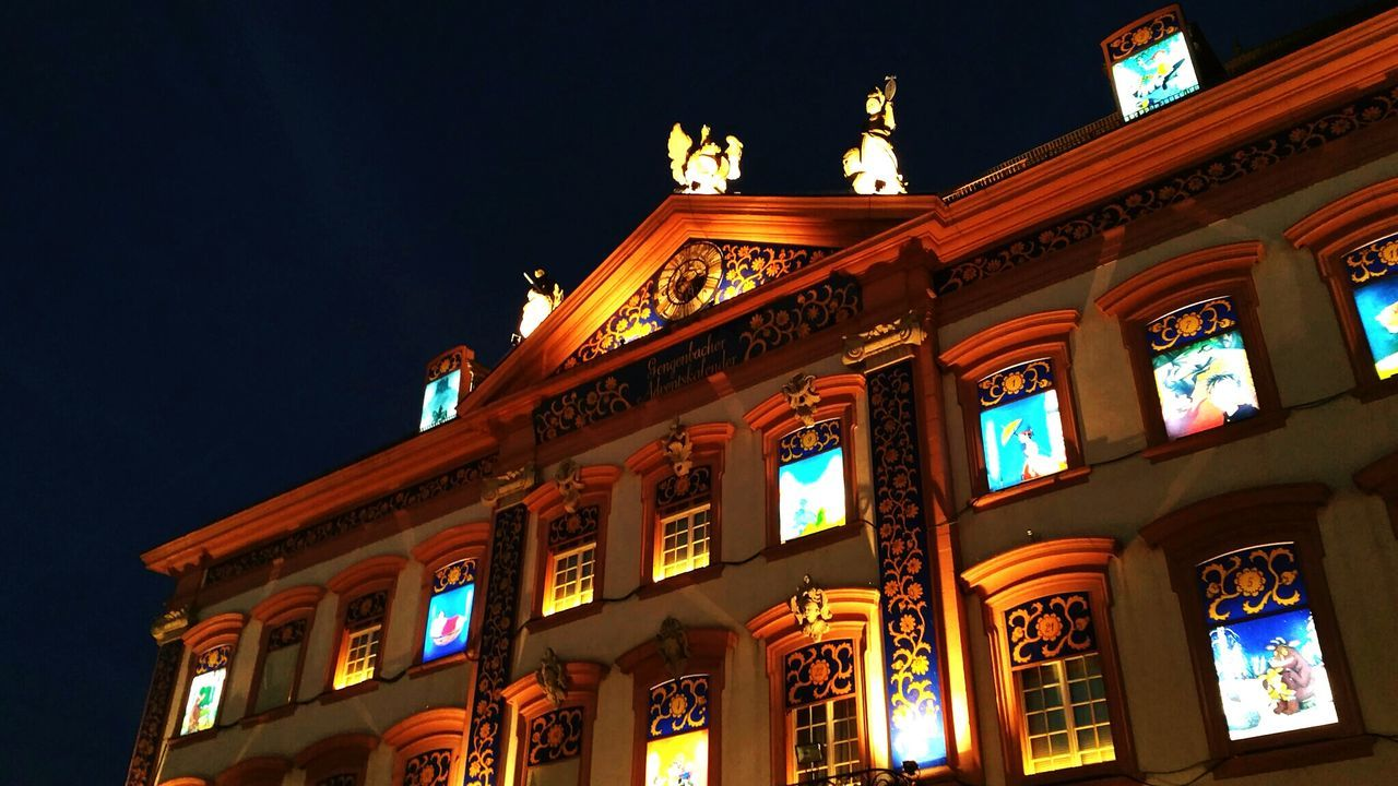 First Eyeem Photo City Hall Gengenbach Christmas Around The World Advent Calendar Windows Light Up Your Life Lighthouse 24 Windows