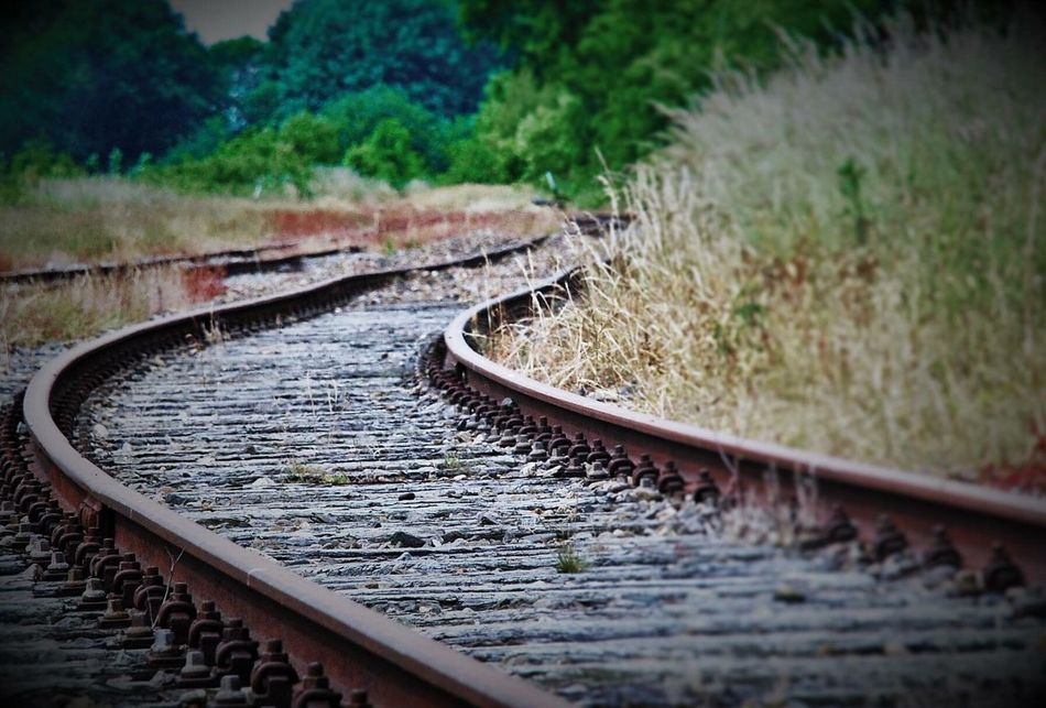 Nature Outdoors No People Day Railway Railway Of Life Dreaming Thoughtful Life Obstacles Centerpoint Leftbehind Old Life Struggle