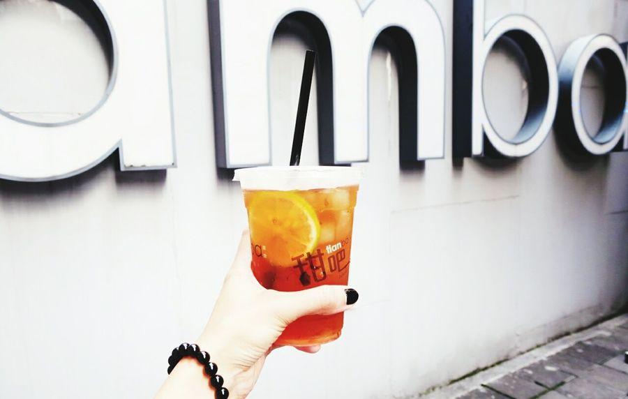 敬!太陽公公🔆。 Summer Tianba Drink Iced Tea Ximending
