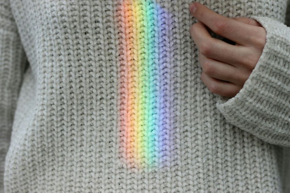 Human Body Part Wool Sweater Human Hand Textile Close-up Indoors  Full Frame One Person Multi Colored Adult People Adults Only Only Women Day One Woman Only Taking Photos EyeEm EyeEm Best Shots Rainbow🌈