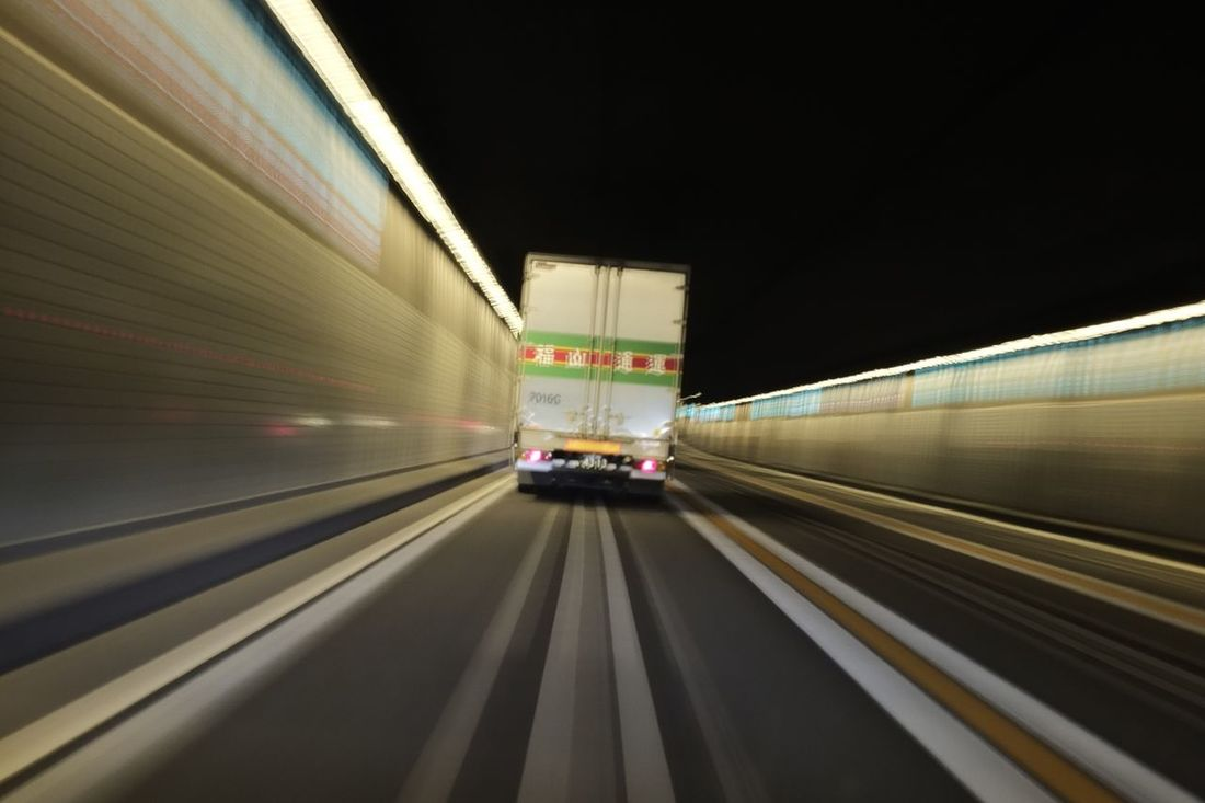 In The Tunnel Illuminated Road Highway Tokyo Highway Capture The Moment Driving Around Taking Photos From My Point Of View Night Driving  Road Lights Lines Lines And Shapes Reflection Vanishing Point Perspective 首都高速 ドライブ トンネル