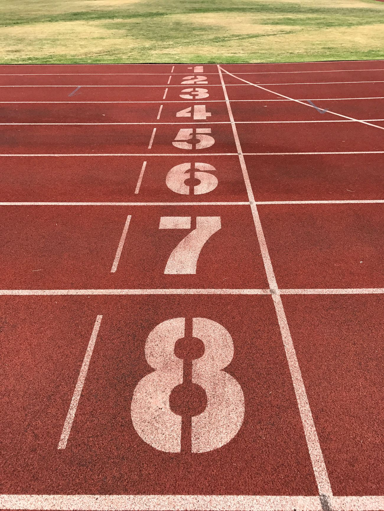 Number Running Track Track And Field Sports Track Sports Race Outdoors Sport No People Competition Day Starting Line Finish Line