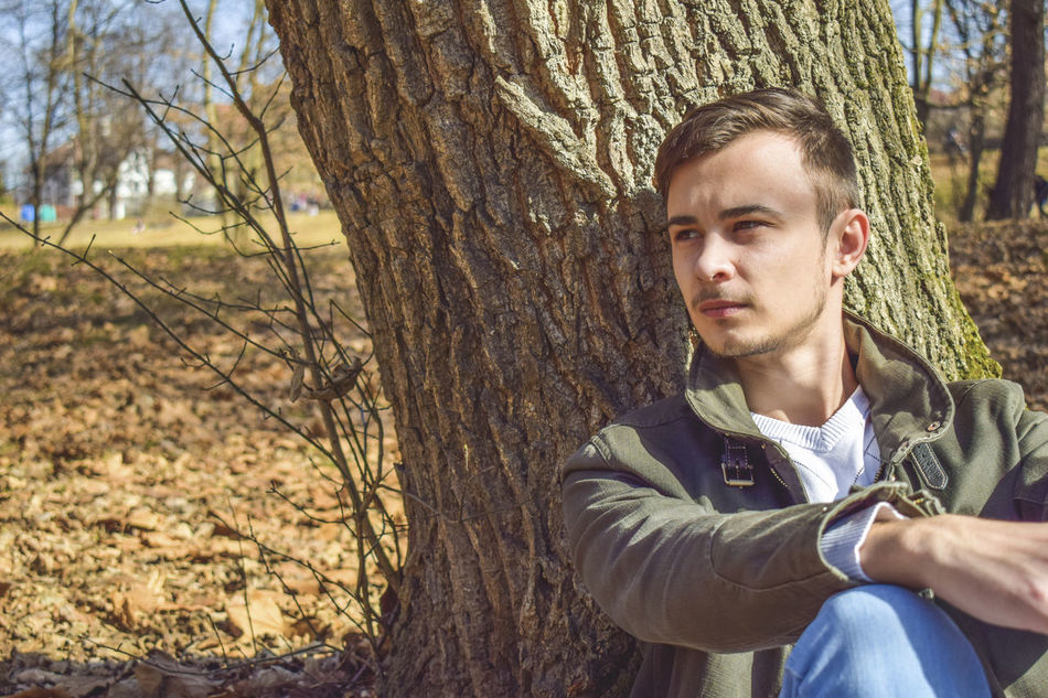 Beard Day Fall Colors Fall Leaves Men Nature One Man Only One Person One Young Man Only Only Men Outdoor Photography Outdoors People Portrait Responsibility Tree Wood Young Adult Worried EyeEmNewHere Close-up Jewellery Box Broches