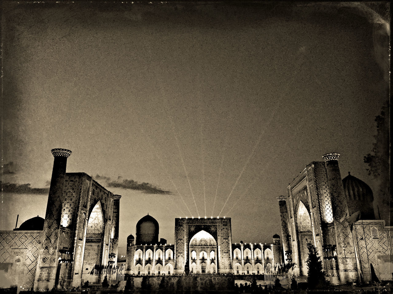 Amazing historical and beautiful Registan Square in Samarkand Uzbekistan Arch Architectural Column Architecture Architecture Beautiful Built Structure Day Deterioration Historic Low Angle View No People Old Outdoors Registansquare Run-down Samarkand Silk Road Sky The Past Uzbekistan