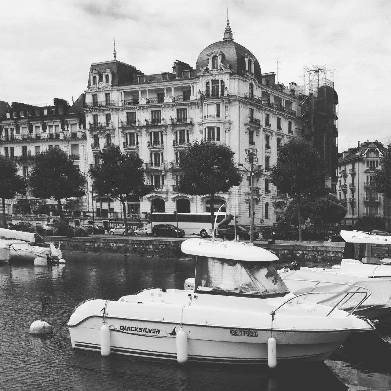 Taking Photos Black&white Black And White Blackandwhite Photography Port Architecture City View  Geneve Suisse