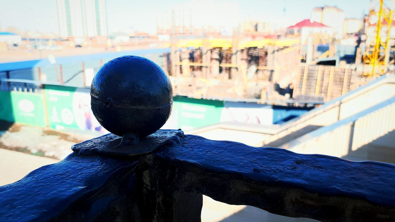 focus on foreground, built structure, outdoors, no people, day, building exterior, architecture, close-up, water, city, blue, nautical vessel, sky, nature