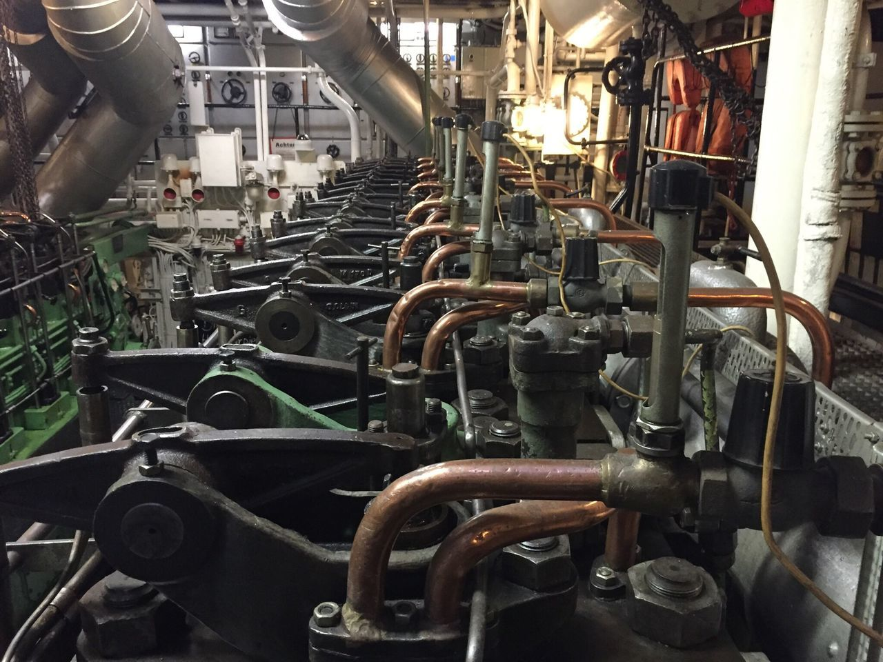 Museumsschiff Gera Museumsschiff Diesel DieselEngine Power