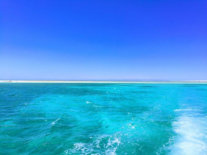 Like carribien Turquoise Colored Nature Horizon Over Water Summer Outdoors Travel Destinations