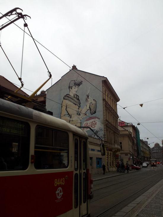 Art Art - Streetart ArtWork Cable City Czech Czech Republic Electricity  I Love Prague Paint Painting Prague Praha Praha2014 Public Transportation Station Streetart Technology Train Station Tram Tramway Station Tramways Transport Transportation Visiting Prague