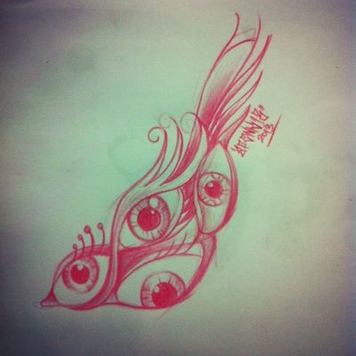 Sketch at Dewata Bali Inked Tattoo Studio by Eponk13