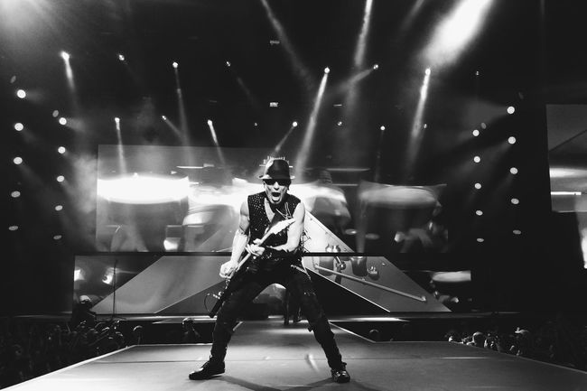 Scorpions in Georgia 2015-2016 world tour Arts Culture And Entertainment Stage - Performance Space Scorpions Rock Rock Formation Stage Dramatic Angles TakeoverContrast Monochrome Photography The Culture Of The Holidays Overnight Success